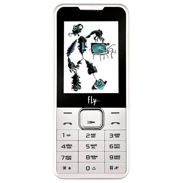 Купить Мобильный телефон Fly FF243 White
