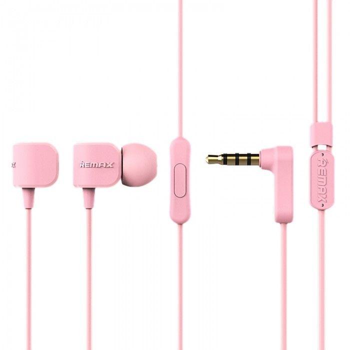 Купить Наушники и гарнитуры, Наушники Remax RM-502 Earphone Pink