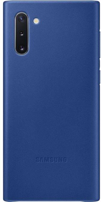 Чехол Samsung Leather Cover для Samsung Galaxy Note 10 (EF-VN970LLEGRU) Blue от Територія твоєї техніки