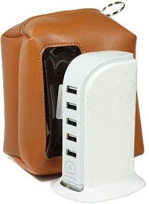 Купить Зарядные устройства, Зарядное устройство WUW Wall Charger 5xUSB 6A (WUW-C24) White