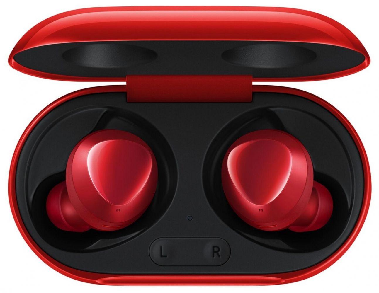 Купить Наушники и гарнитуры, Беспроводные наушники Samsung Galaxy Buds Plus (SM-R175NZRASEK) Red