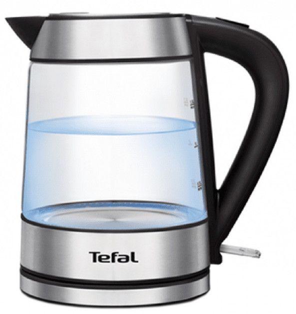 Tefal / Електрочайник TEFAL GLASS KETTLE 1.7L KI730D30
