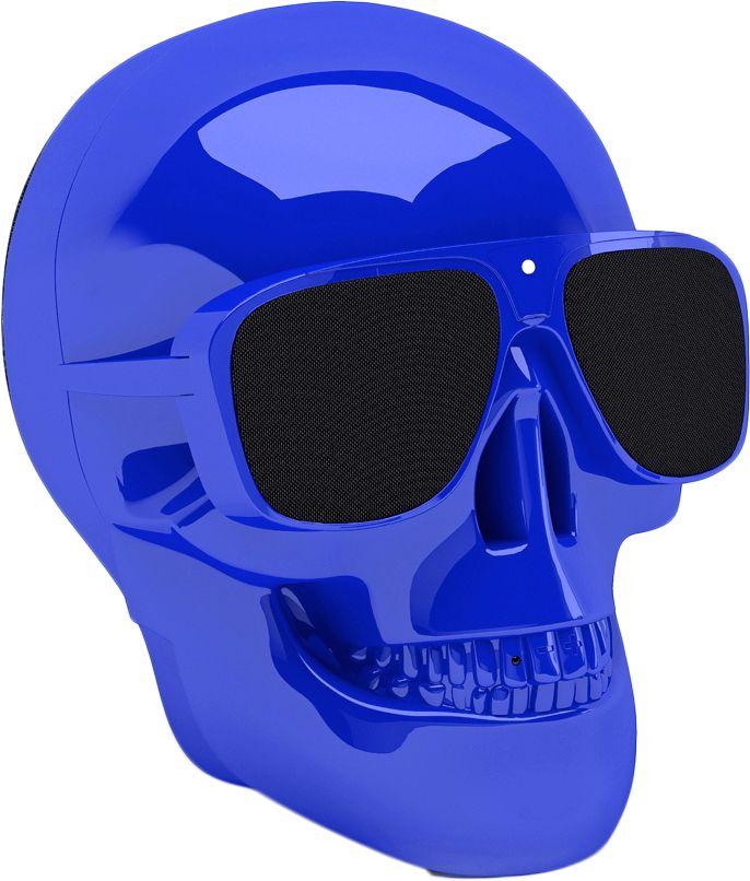 Купить Акустические системы, Акустическая система Jarre Technologies AeroSkull Nano (ML80116) Chrome Blue