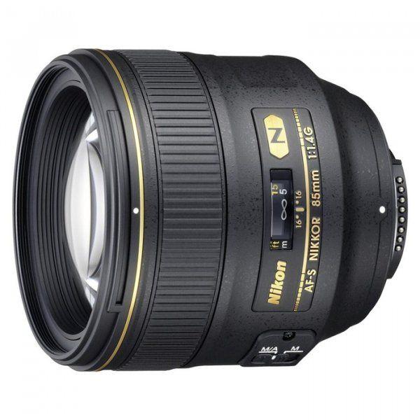 Купить Объектив Nikon AF-S Nikkor 85mm f/1.4G (JAA338DA)