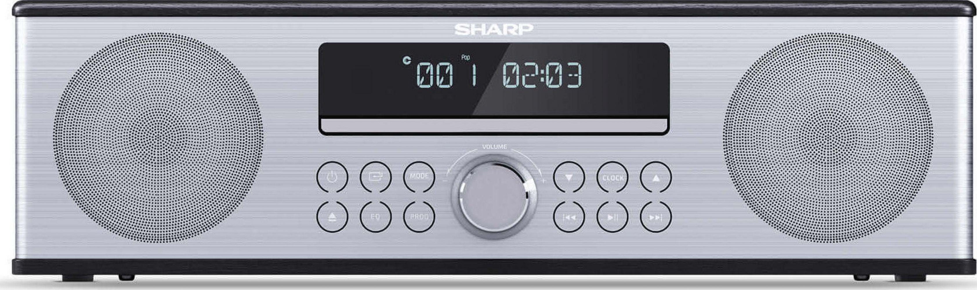 Купить Акустические системы, Акустика SHARP XL-B715D Black