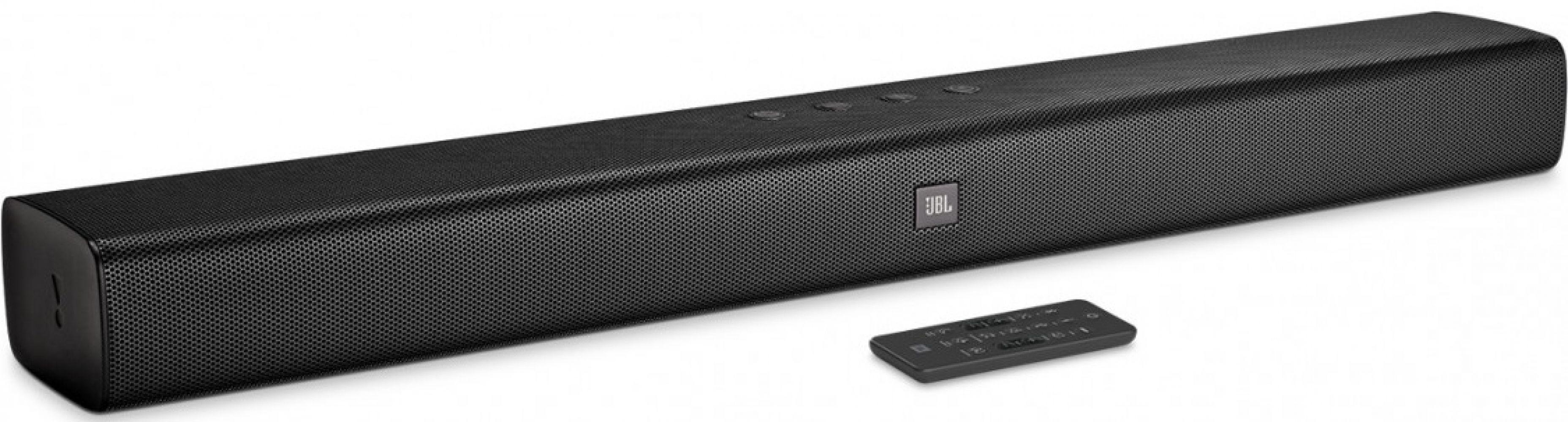Купить Акустические системы, Саундбар JBL Bar Studio 2.0 Channel Soundbar with Bluetooth (JBLBARSBLK)