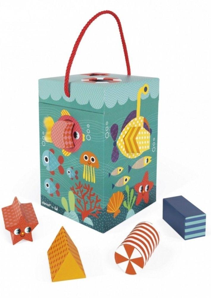 Купить Игрушки для малышей, Сортер Janod Океан (J02785)