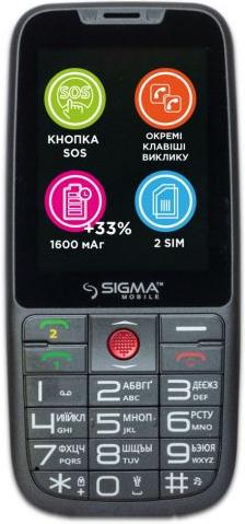 Купить Мобильный телефон Sigma mobile Comfort 50 Elegance3 Gray