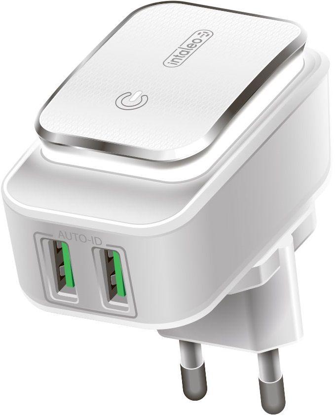 Зарядные устройства, Сетевое зарядное устройство Intaleo TCL242 2.4 A (1283126481130)  - купить со скидкой
