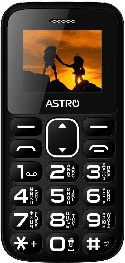 Купить Мобильный телефон Astro A185 Black