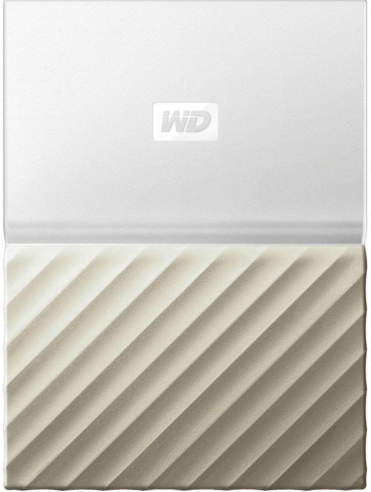 Купить Жесткий диск Western Digital My Passport Ultra 2TB WDBTLG0020BGD-WESN 2.5 USB 3.0 External White-Gold