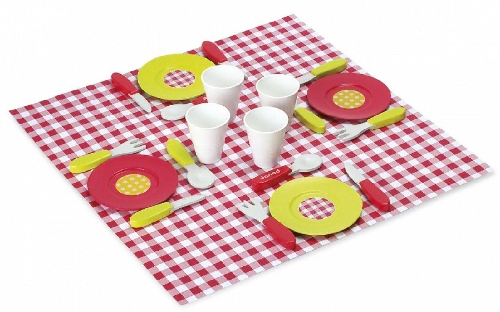 Купить Игровые наборы, Игровой набор Janod Чемодан для пикника (J06524)