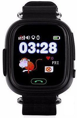 Купить Детские умные часы с GPS-трекером TD-02 (Q100) Black, Smart Baby Watch