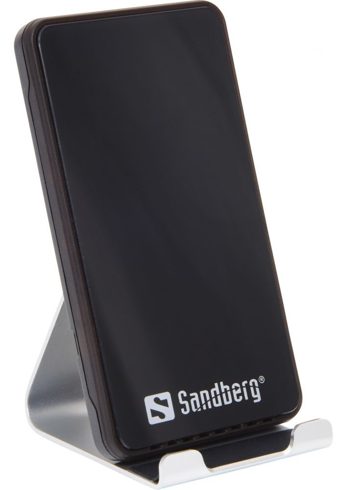 Купить Зарядные устройства, Беспроводное зарядное устройство Sandberg Wireless Charger Alu Dock 10W (441-07)