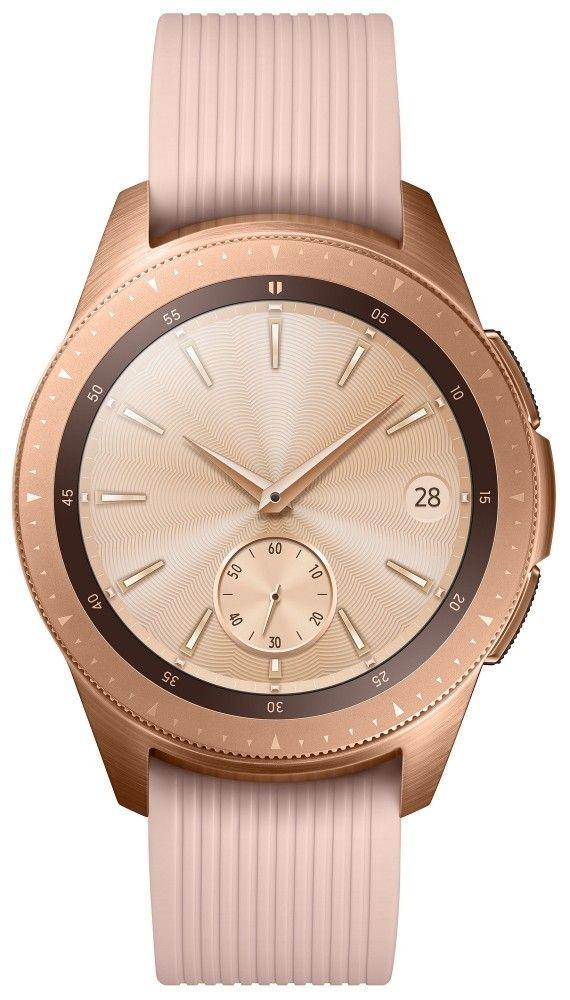 Смарт часы Samsung Galaxy Watch 42mm (SM-R810NZDASEK) Gold от Територія твоєї техніки