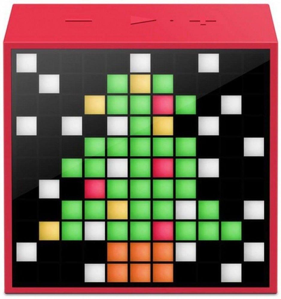 Портативная акустика Divoom Timebox mini Red (DIMTMIR)  - купить со скидкой