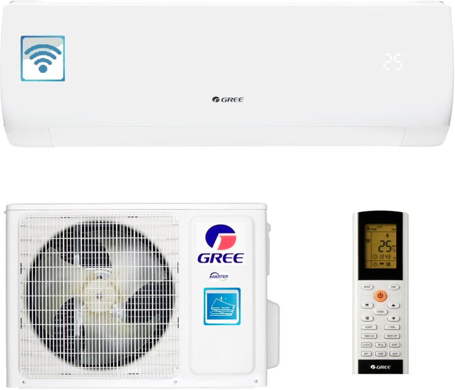 Купить Кондиционеры, Кондиционер GREE GWH09AFC-K6DNA1A (MUSE INVERTER) Wi-Fi