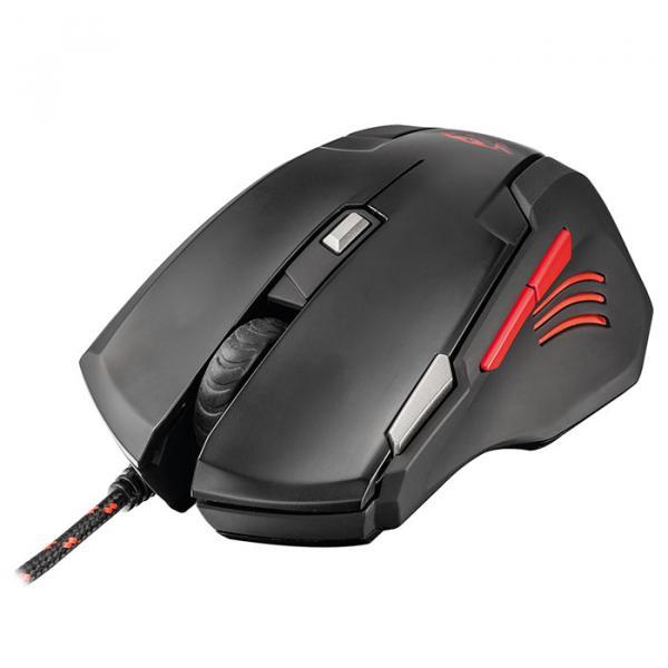Купить Мышь Trust GXT 111 USB Black/Red (21090)