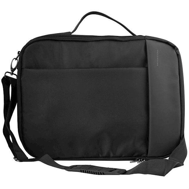 Купить Сумки / чехлы для ноутбуков, Сумка-рюкзак трансформер для ноутбука Modecom Trenton 15.6 (TOR-MC-TRENTON-BLK) Black