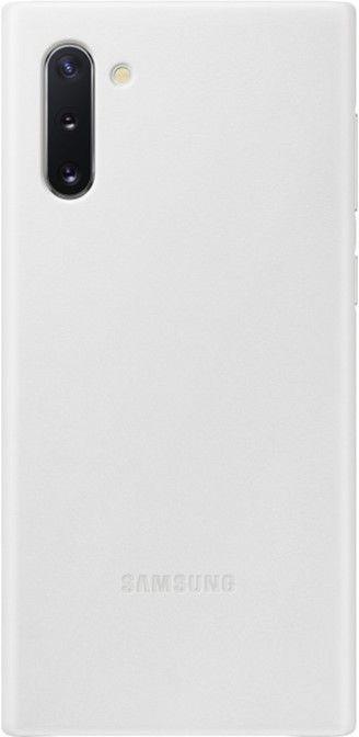 Чехол Samsung Leather Cover для Samsung Galaxy Note 10 (EF-VN970LWEGRU) White от Територія твоєї техніки