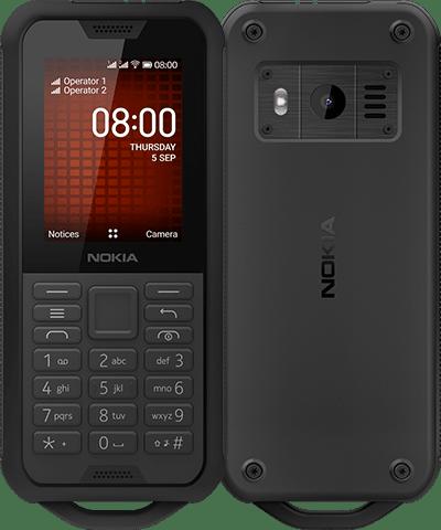 Купить Кнопочные телефоны, Мобильный телефон Nokia 800 Tough Black