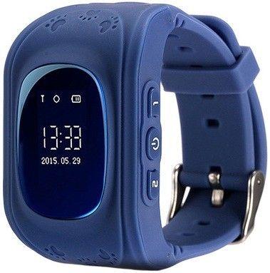 Купить Детские умные часы с GPS-трекером Smart Baby Watch GW300 (Q50) Dark Blue