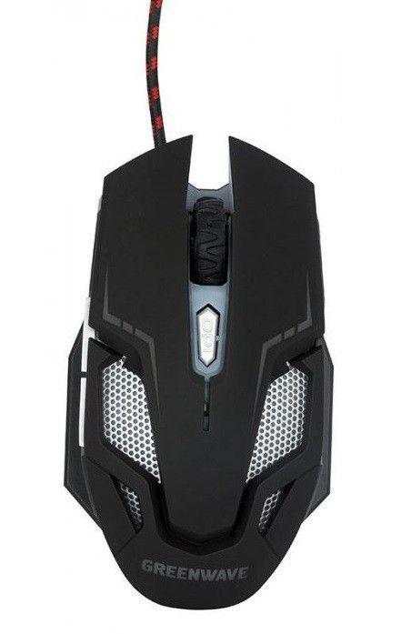 Купить Мышь Greenwave KM-GM-4000LU USB Black (R0014222)