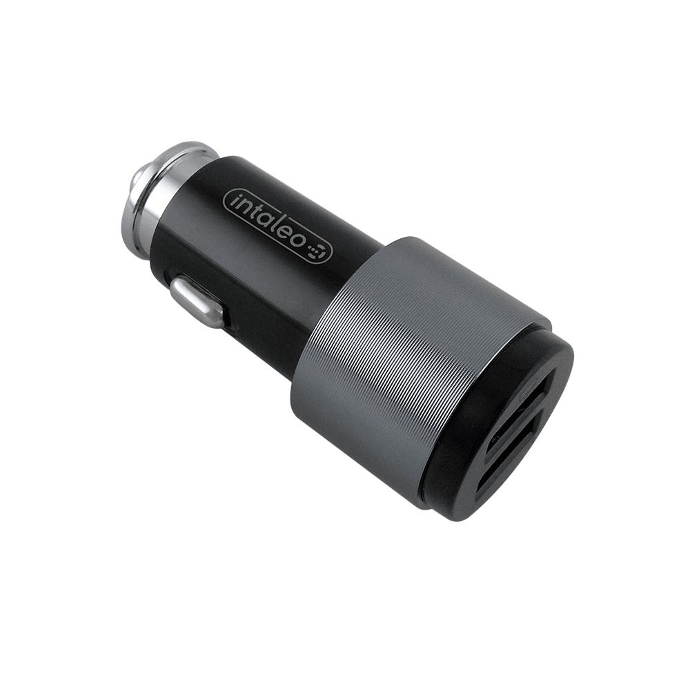 Купить Зарядные устройства, Автомобильное зарядное устройство Intaleo CCG422 (2USB4, 2A) Black