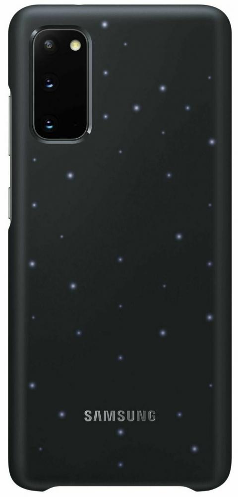 Панель Samsung LED Cover для Samsung Galaxy S20 (EF-KG980CBEGRU) Black от Територія твоєї техніки