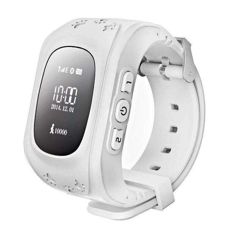 Купить Детские умные часы с GPS-трекером Smart Baby Watch GW300 (Q50) White