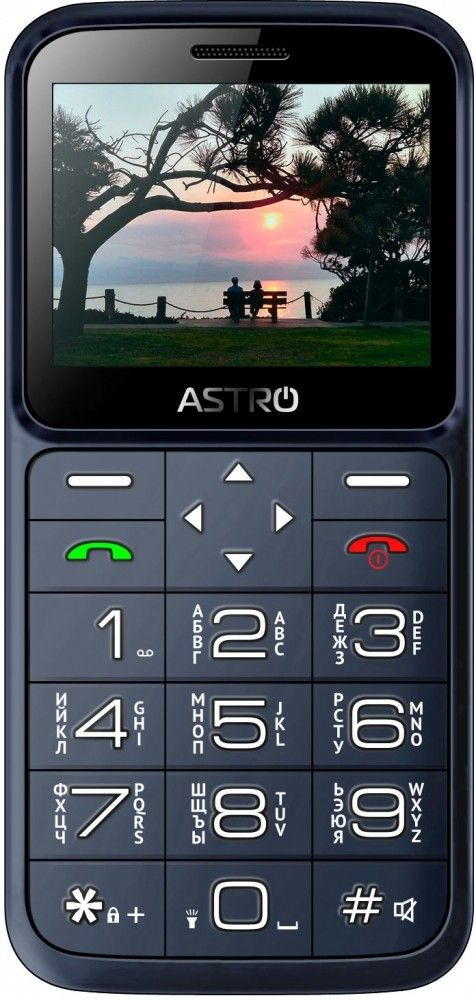 Купить Мобильный телефон Astro A186 Navy