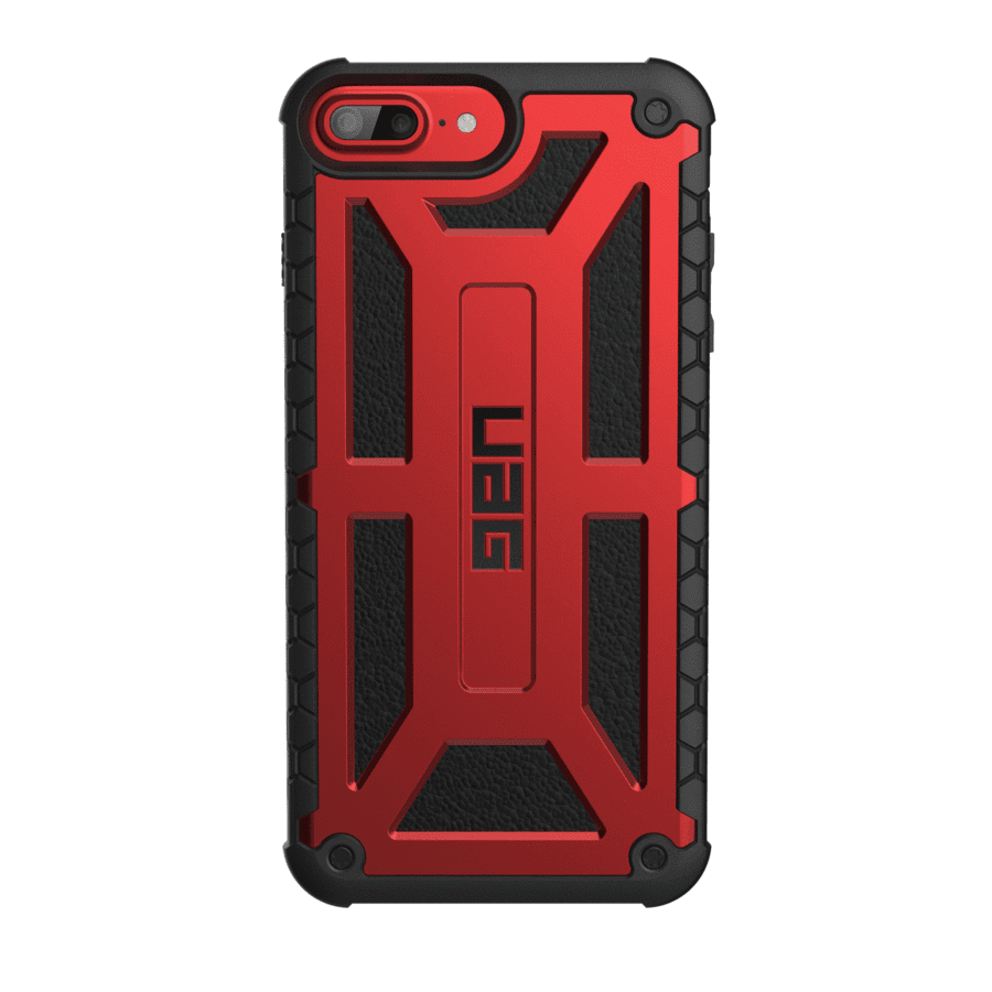 Чехол UAG iPhone 8/7/6S Monarch Crimson от Територія твоєї техніки