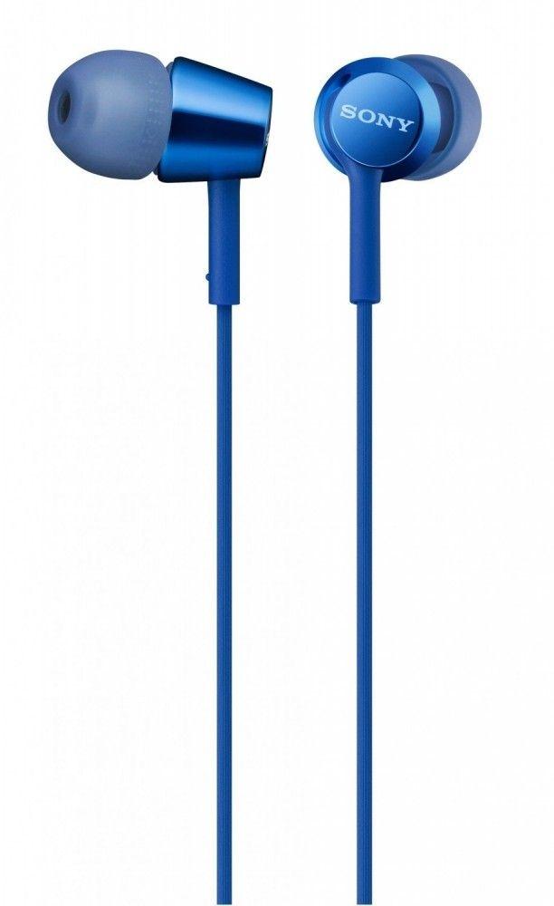 Купить Наушники и гарнитуры, Наушники Sony MDR-EX155 Blue