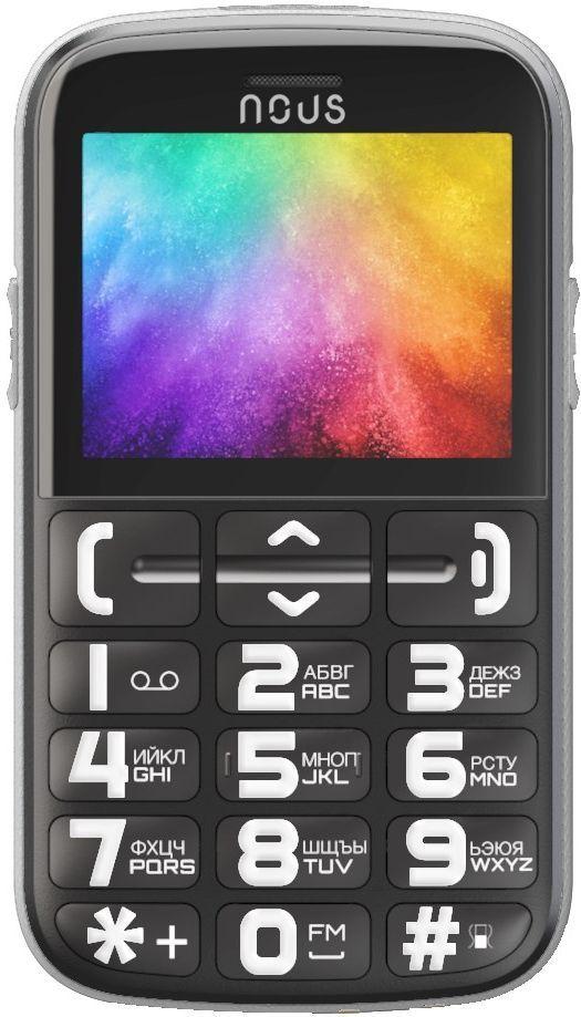 Купить Мобильный телефон Nous Helper Black