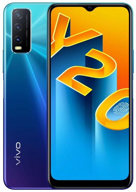 Купить Смартфоны, Смартфон vivo Y20 4/64GB (6935117826837) Nebula Blue
