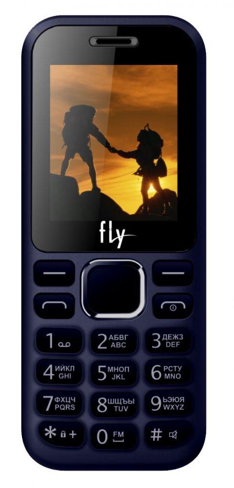 Купить Кнопочные телефоны, Мобильный телефон Fly FF183 Blue