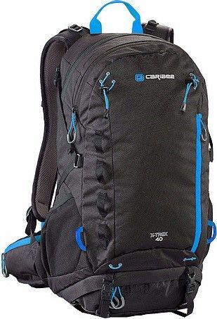Купить Спортивные сумки, Рюкзак туристический Caribee X-Trek 40 Black/Ice Blue