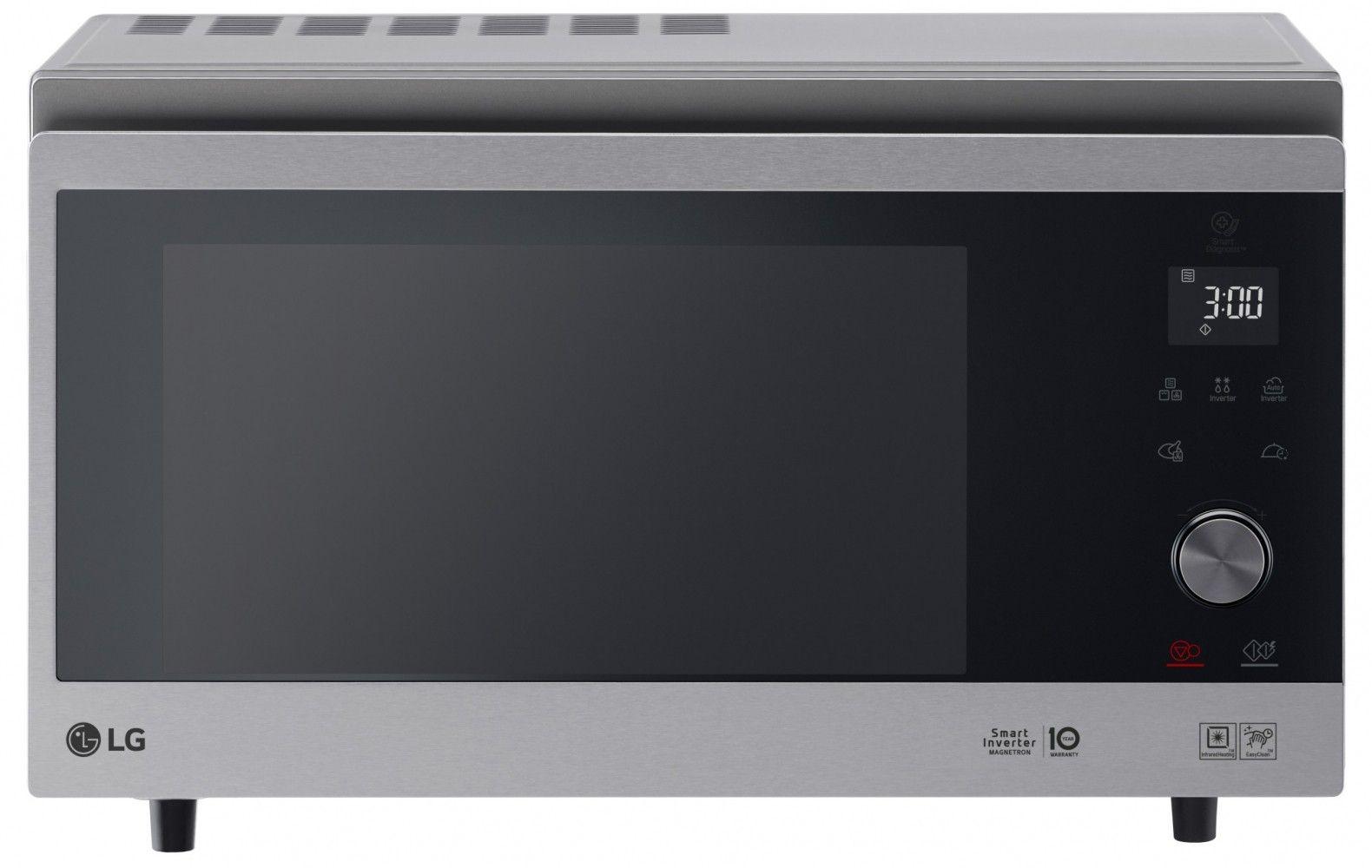 Купить Микроволновые печи, Микроволновая печь LG MJ3965AIS