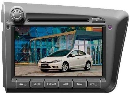 Купить Автомагнитолы, Штатная магнитола Phantom DVM-1333G i6 Honda Civic 4D 2012