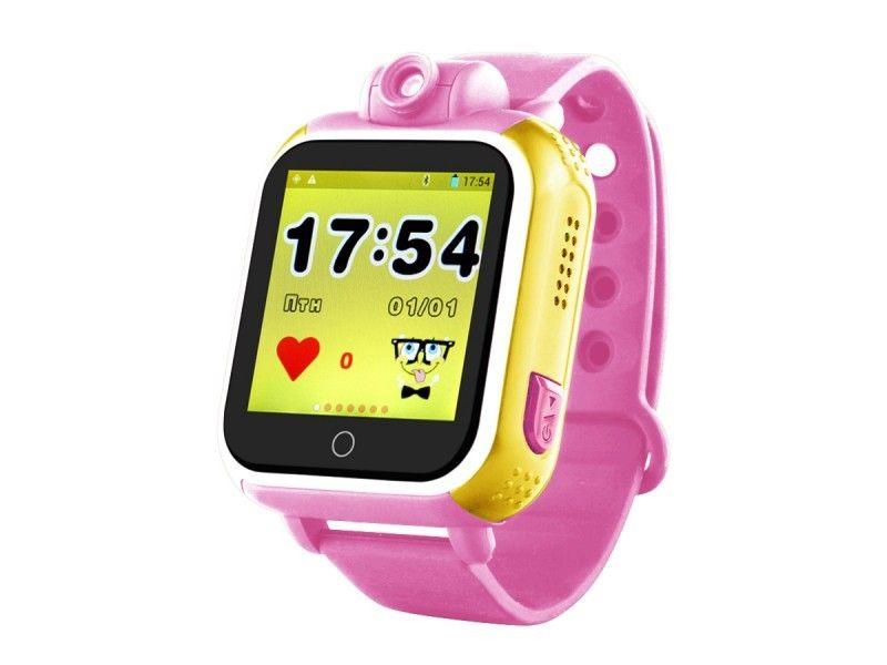 Купить Детские умные часы с GPS-трекером TD-07 (Q20) Pink, Smart Baby Watch