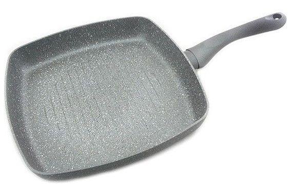 Купить Сковороды, Сковорода-гриль Fissman Moon Stone 28 см (AL-4403.28)