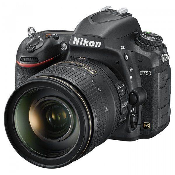 Купить Фотоаппарат Nikon D750 24-120 mm VR II Kit Black (VBA420K002)