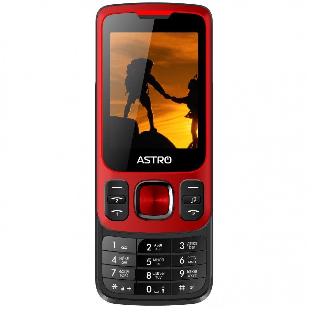 Купить Мобильный телефон Astro A225 Red