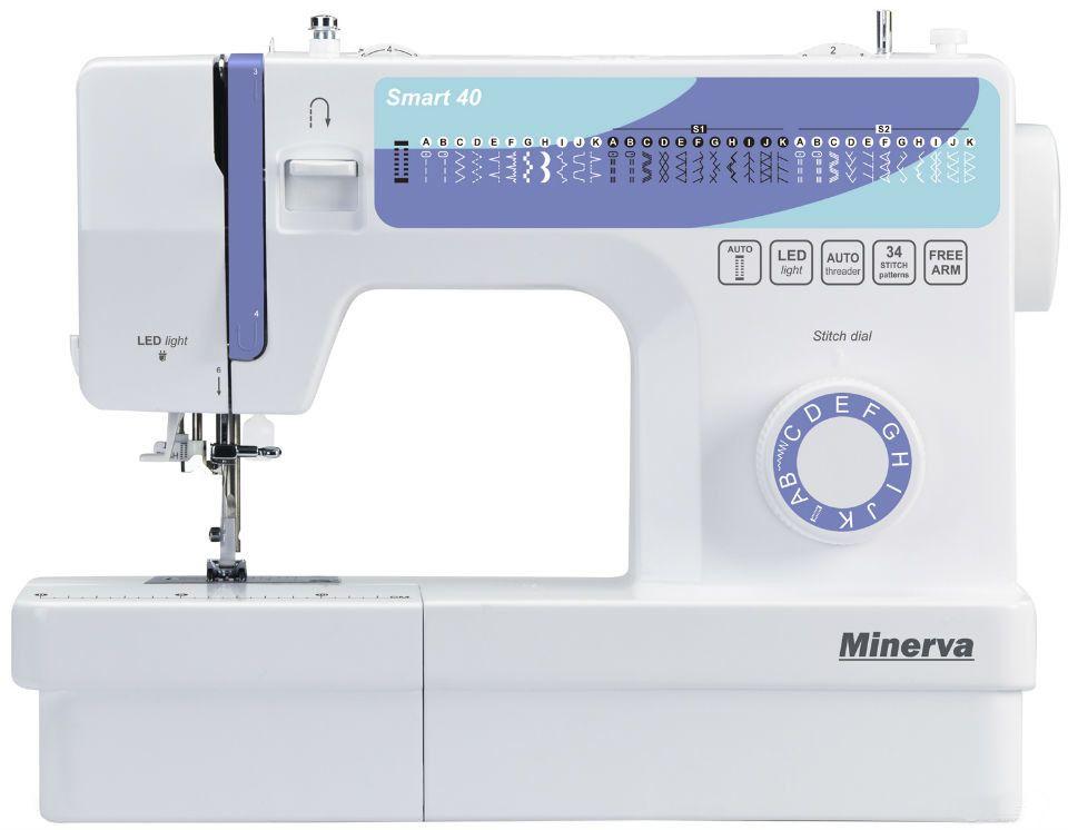 Купить Швейные машинки, Швейная машина Minerva Smart 40