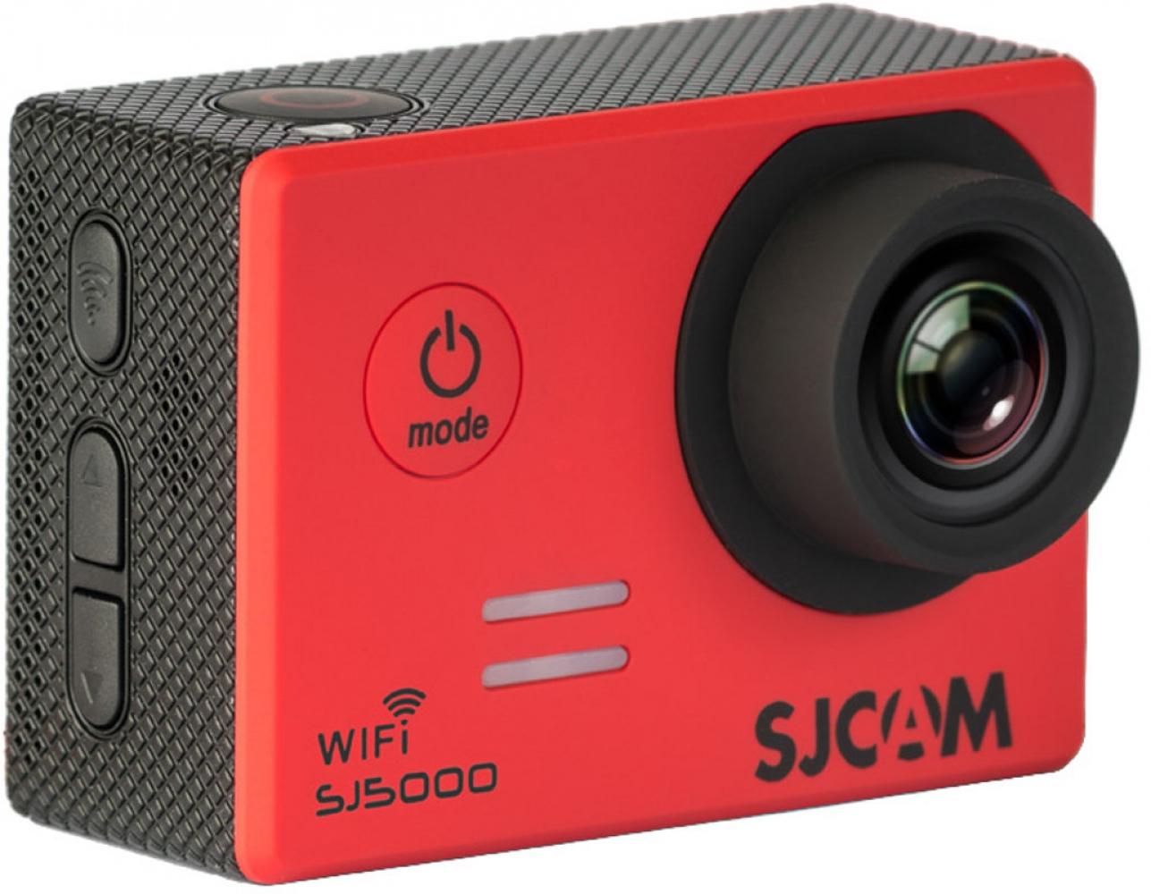 Купить Экшн-камера SJCAM SJ5000 Wi-Fi Red