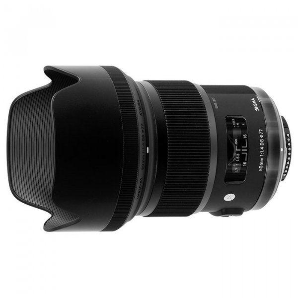 Купить Объектив Sigma AF 50mm f/1.4 DG HSM Art Canon (311954)