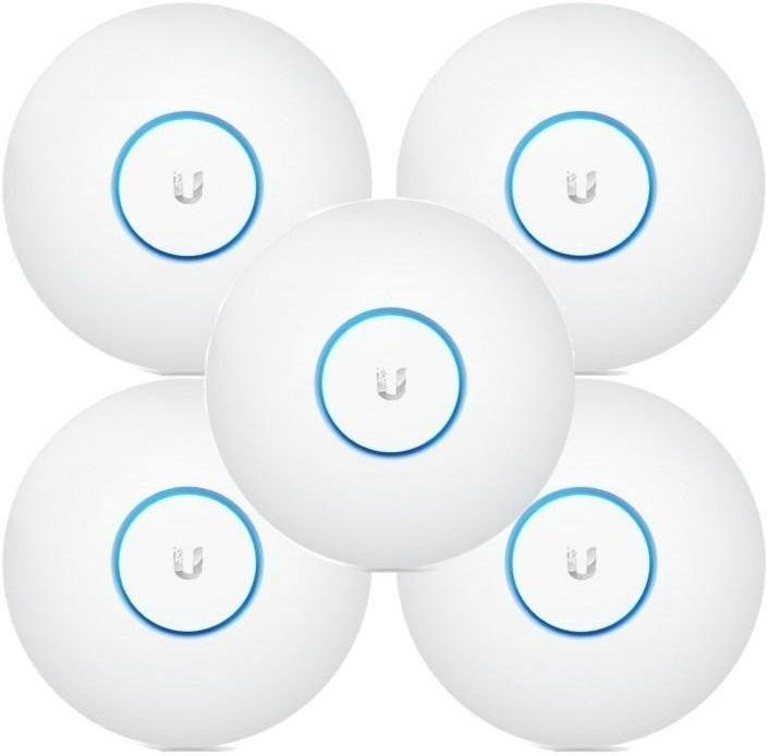 Купить Беспроводные точки доступа, Точка доступа Ubiquiti UniFi AC LR AP 5-Pack (UAP-AC-LR-5)