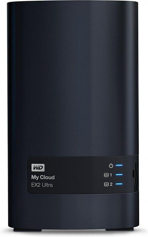 Купить Сетевой накопитель Western Digital My Cloud Expert EX2 Ultra 16TB (WDBVBZ0160JCH-EESN)
