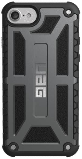 Чехол UAG iPhone 8/7/6S Monarch Graphite Black от Територія твоєї техніки