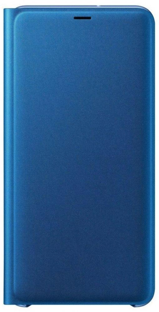 Купить Чехлы для мобильных телефонов, Чехол-книжка Samsung Wallet Cover для Samsung Galaxy A7 2018 (EF-WA750PLEGRU) Blue